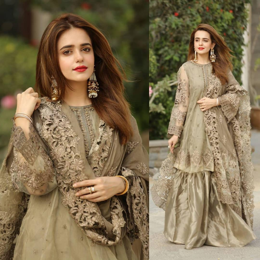 Beautiful Pakistani Celebrities First Day Eid Pictures - Part-2