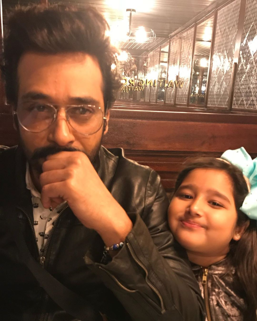 Sana Faisal Shares Faisal Qureshi & Her Daughter Pictures on Father's Day
