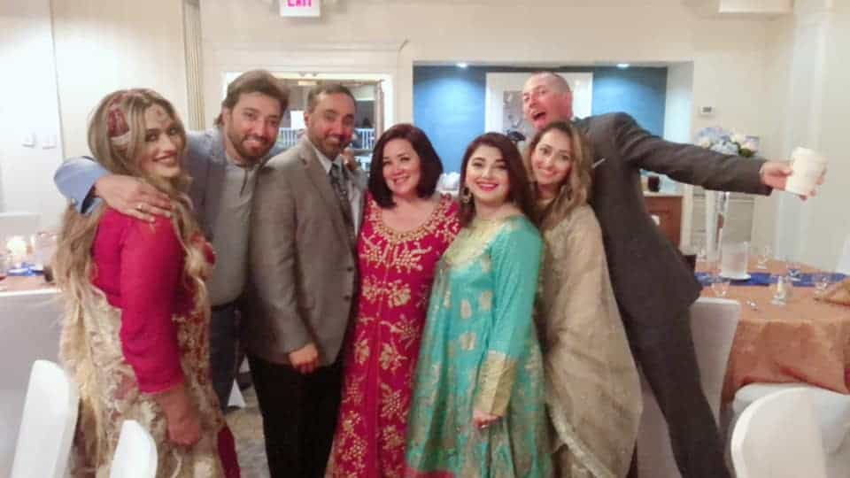 Javeria & Saud Attended Relatives Wedding in USA Along With Kids