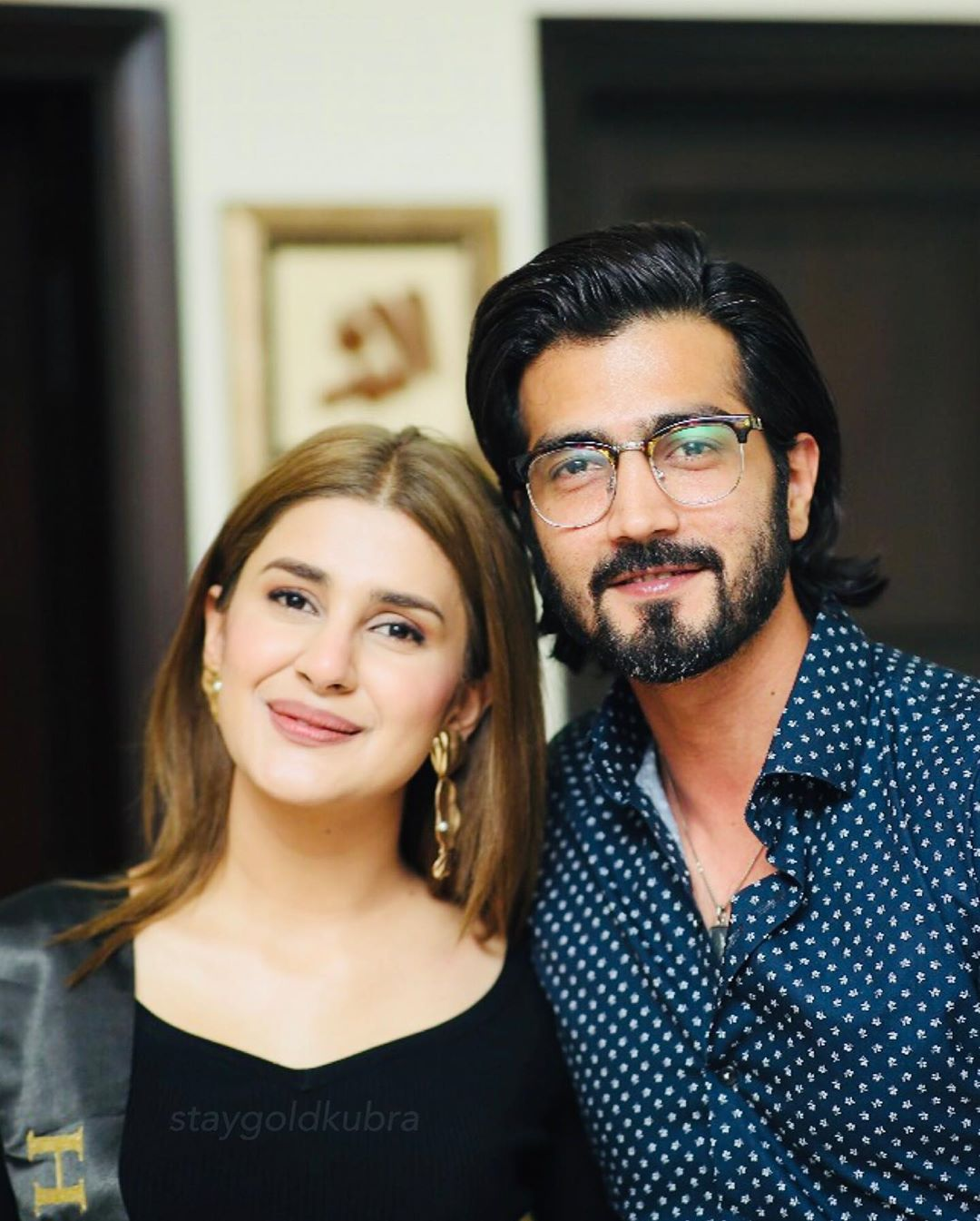 Beautiful Clicks of Kubra Khan from Her Birthday Party Last Night