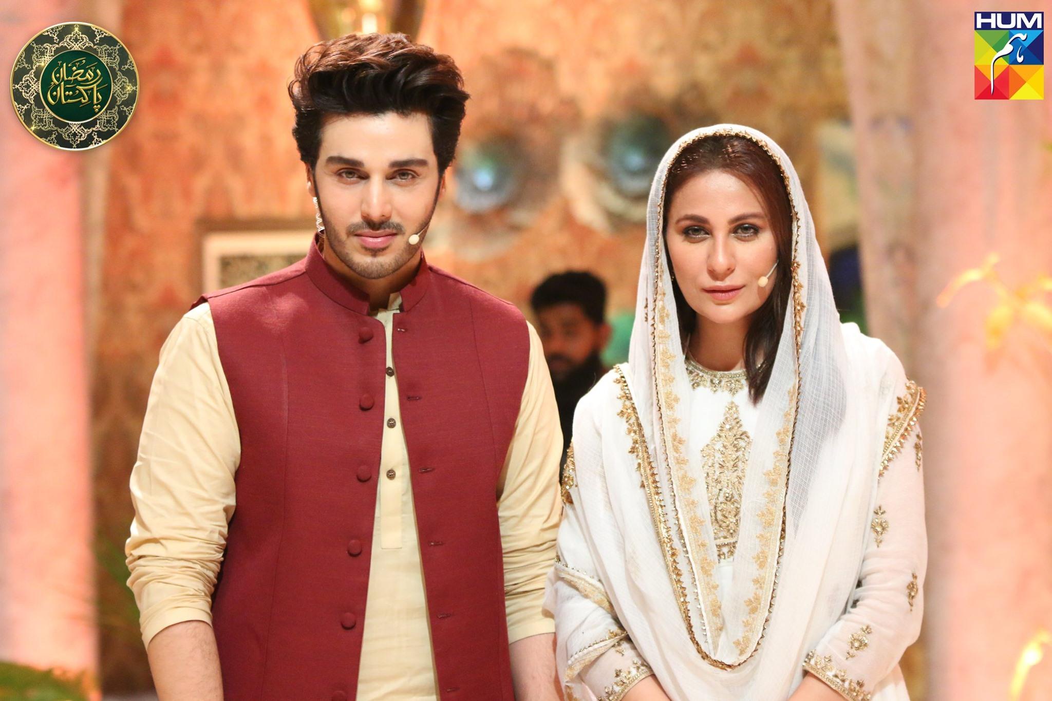 Beautiful Nimra Khan in Ramzan Pakistan Transmission