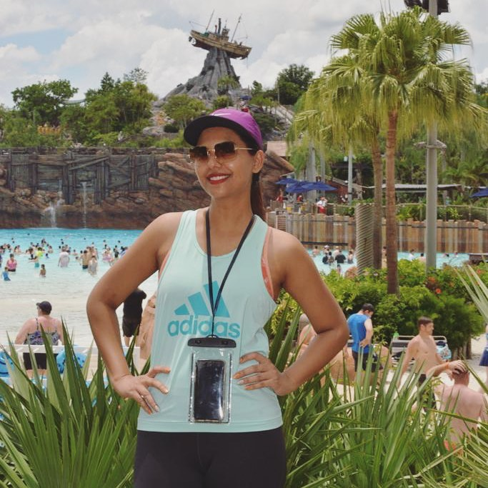 Sunita Marshal's Beautiful Pictures with Her Kids at Disney's Typhoon Lagoon