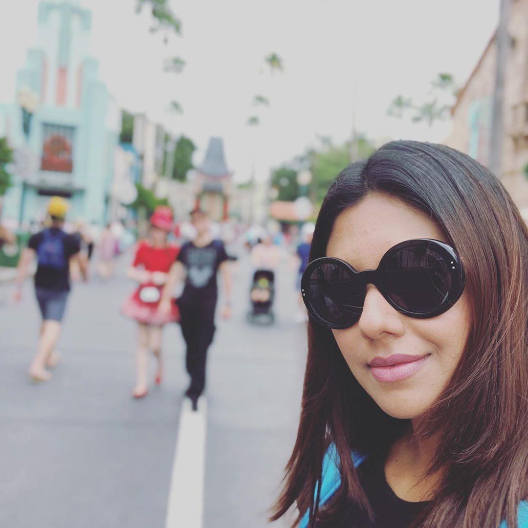 Sunita Marshal Enjoying Vacations with Kids in Disney Florida USA