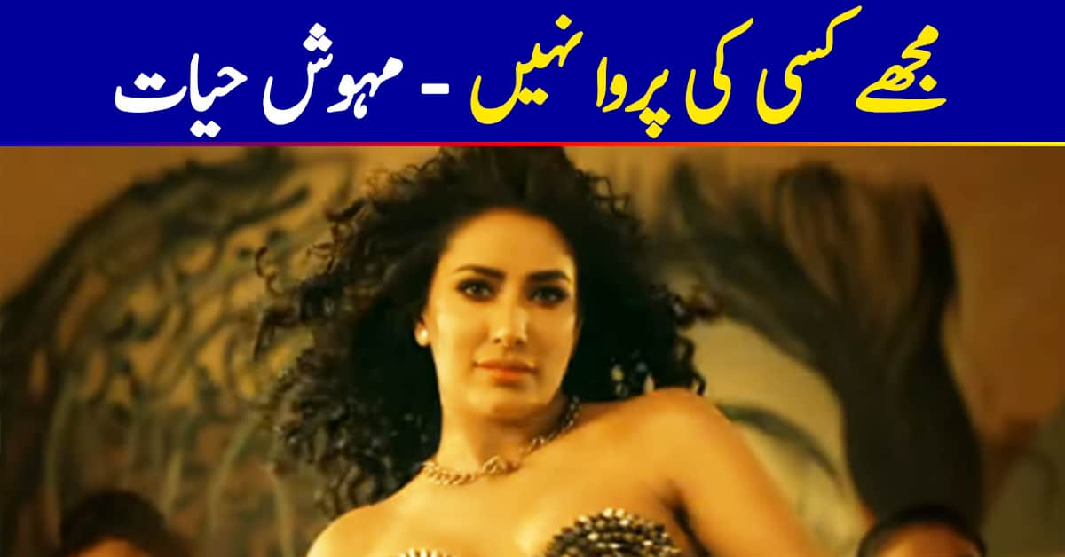 Mehwish Hayat Is Not Bothered By Trolls After Her Work