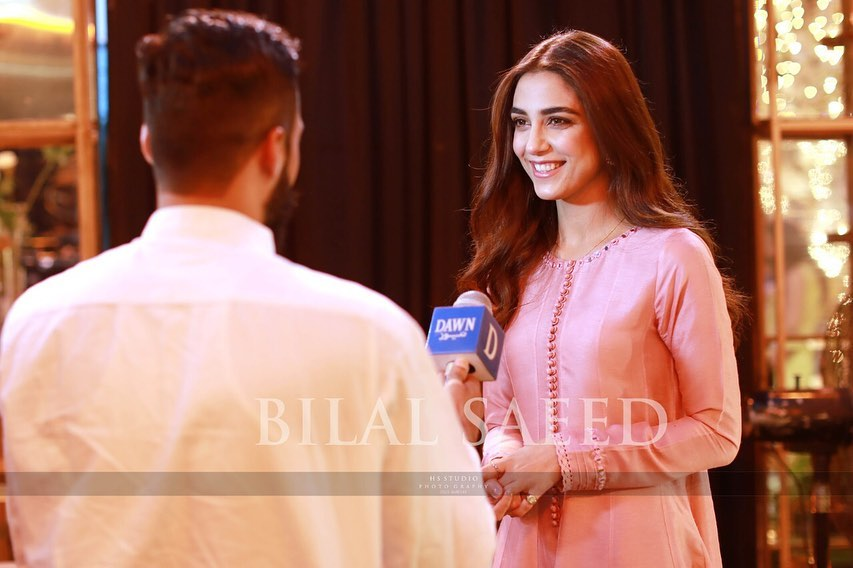 Gorgeous Maya Ali Spotted with her Brother in a Recent Event