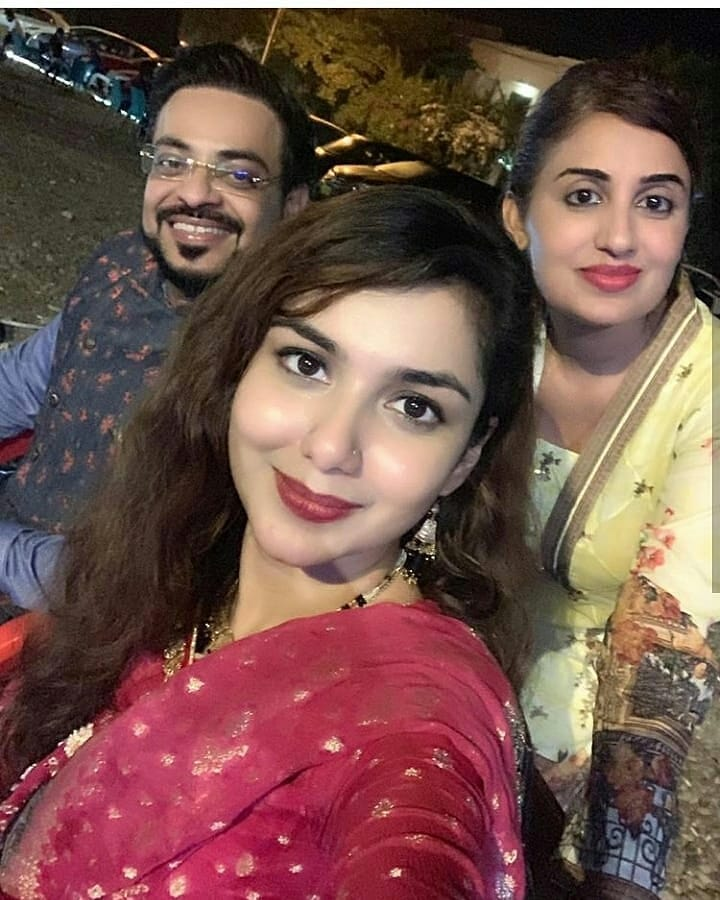 Latest Clicks of Amir Liaquat with his Wife Tuba Amir