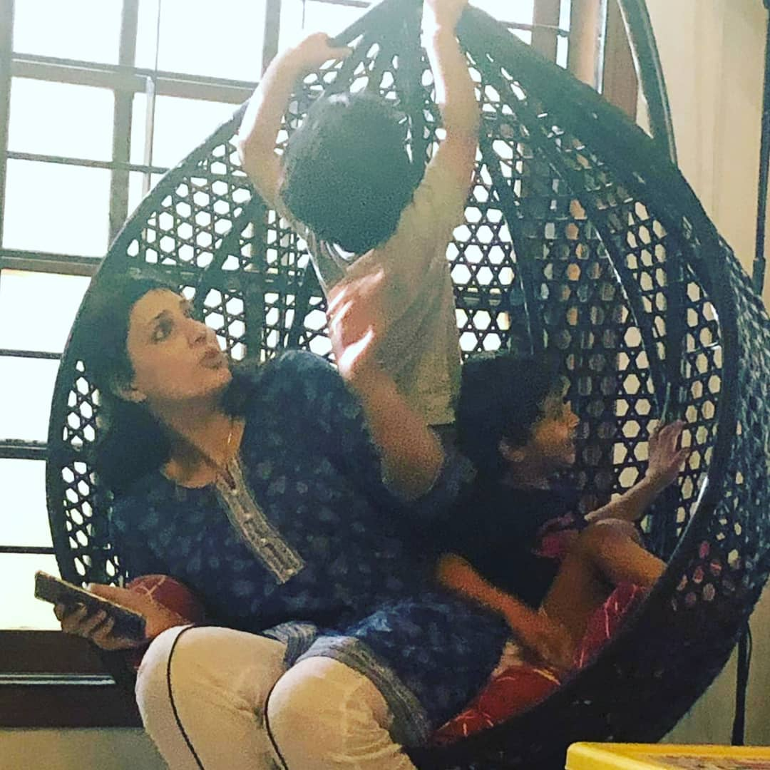Beautiful Pictures of Actor Zahid Ahmed with his Wife and Kids