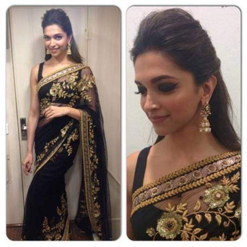 Deepika Padukone In Saree | 27 Types of Sarees You Will ...