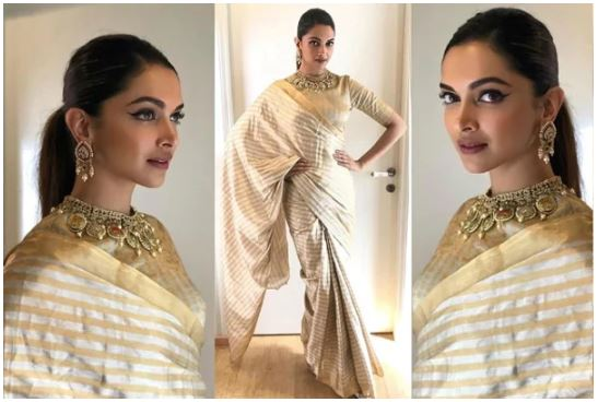 Deepika Padukone In Saree picture 13343