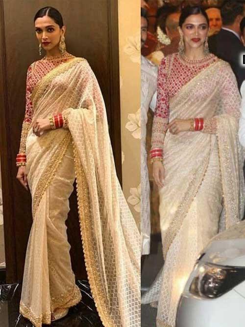 Deepika Padukone In Saree picture 1282922