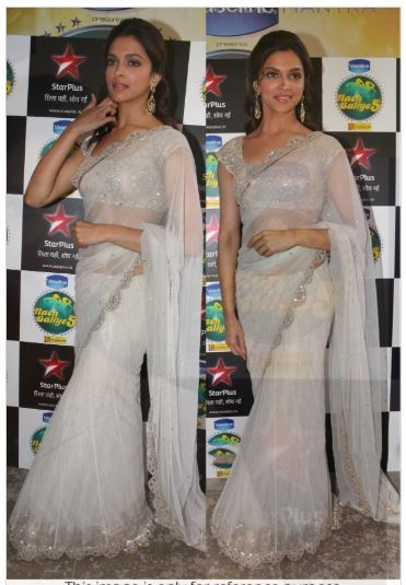 Deepika Padukone In Saree picture 167