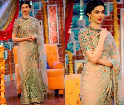 Deepika Padukone In Saree picture 12222