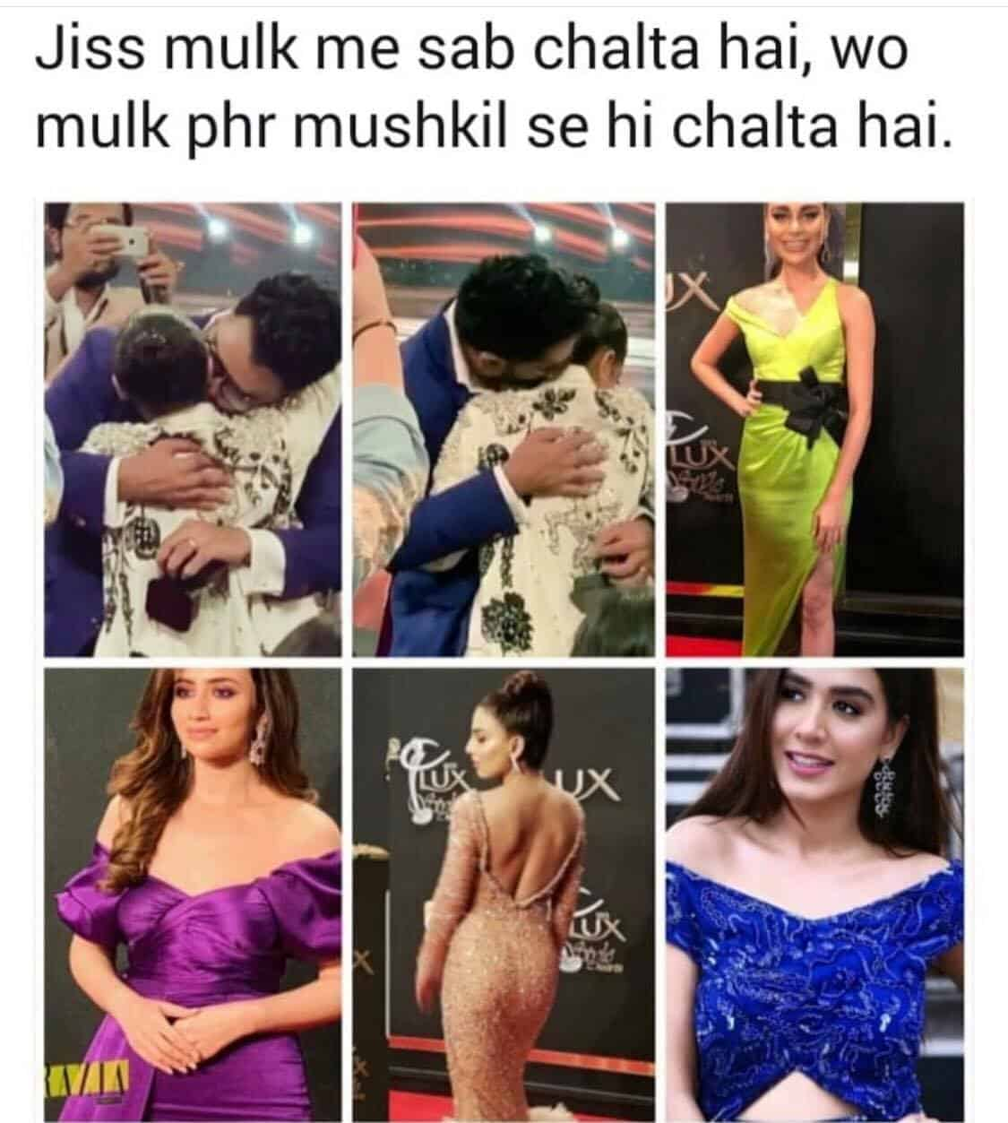 Lux Style Awards 2019 best memes 2