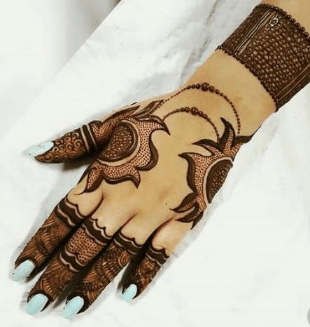 Arabic Mehndi Design 1