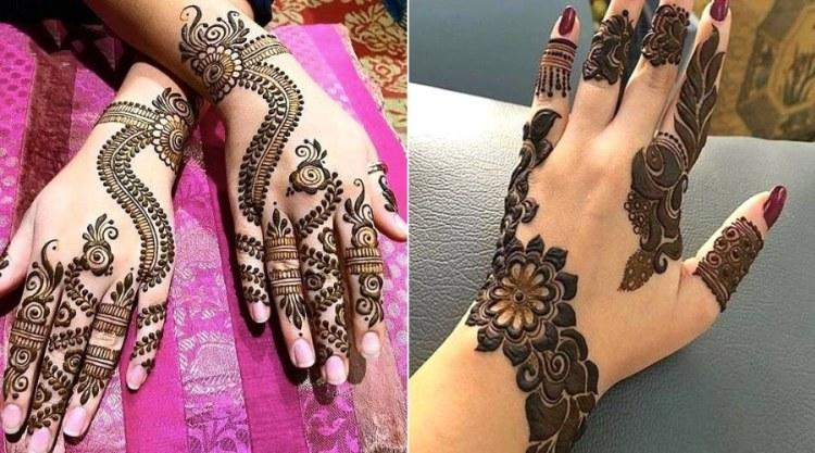 Arabic Mehndi Design 10