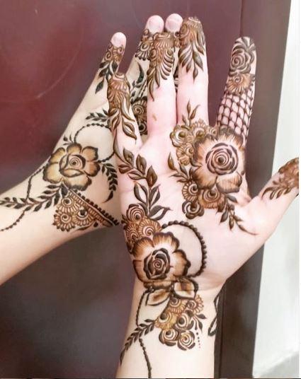 Arabic Mehndi Design 12