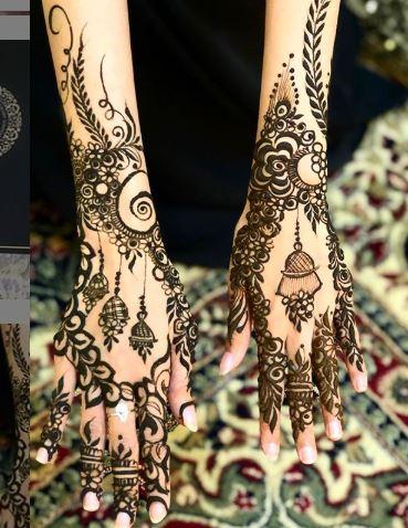 Arabic Mehndi Design 14