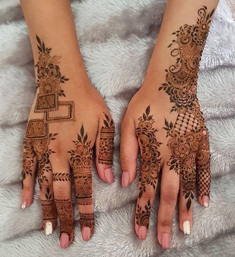 Arabic Mehndi Design 15