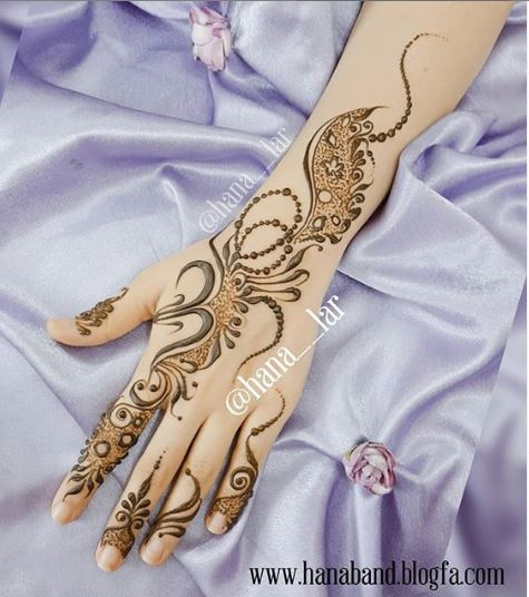 Arabic Mehndi Design 16