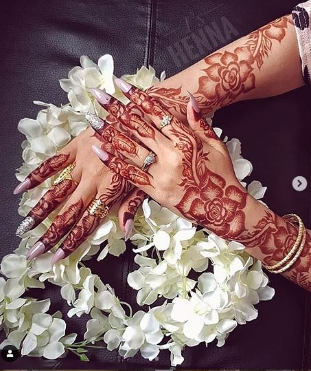 Arabic Mehndi Design 18