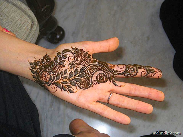 Arabic Mehndi Design 19