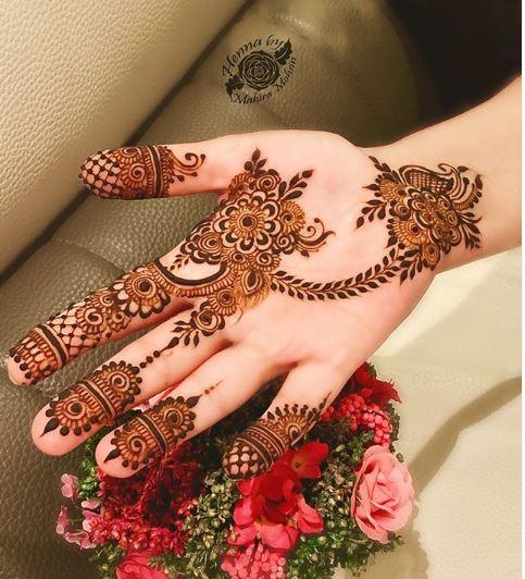 Arabic Mehndi Design 20