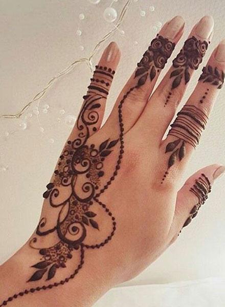 Arabic Mehndi Design 21