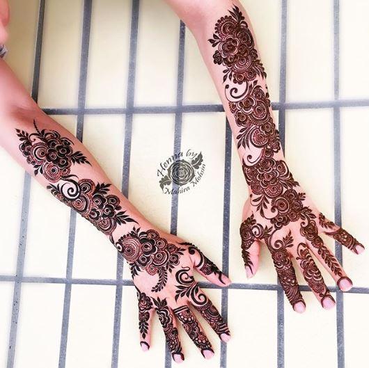 Arabic Mehndi Design 22