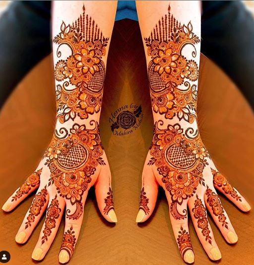 Arabic Mehndi Design 23
