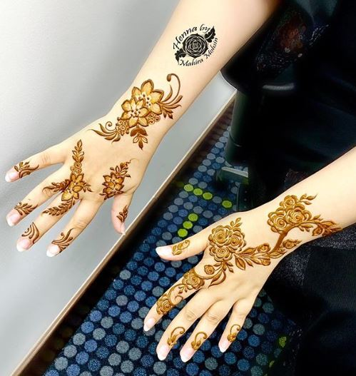Arabic Mehndi Design 24