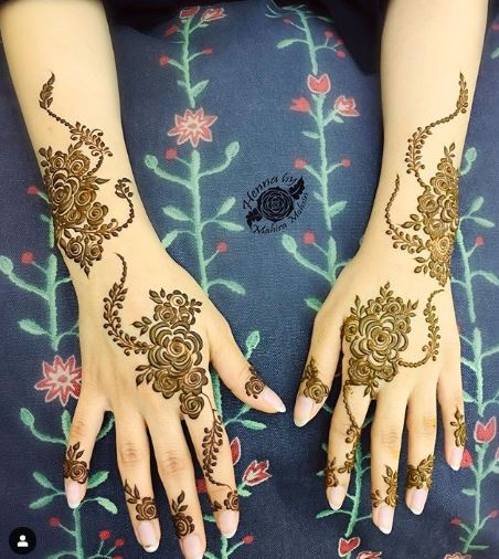 Arabic Mehndi Design 26