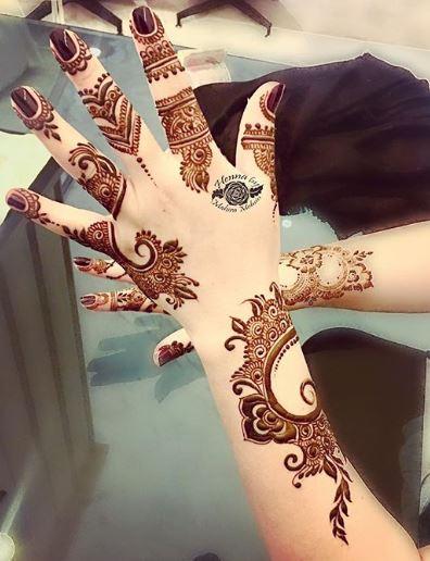 Arabic Mehndi Design 27