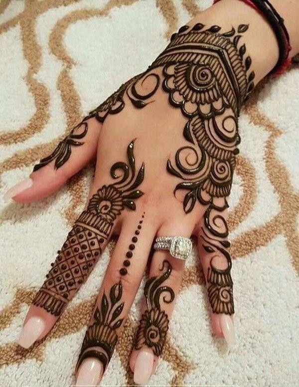 Arabic Mehndi Design 28