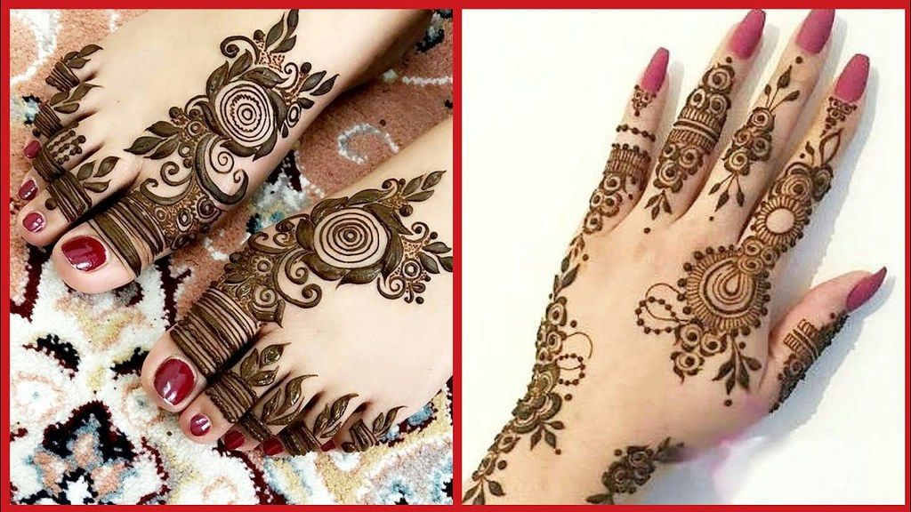Arabic Mehndi Design 3