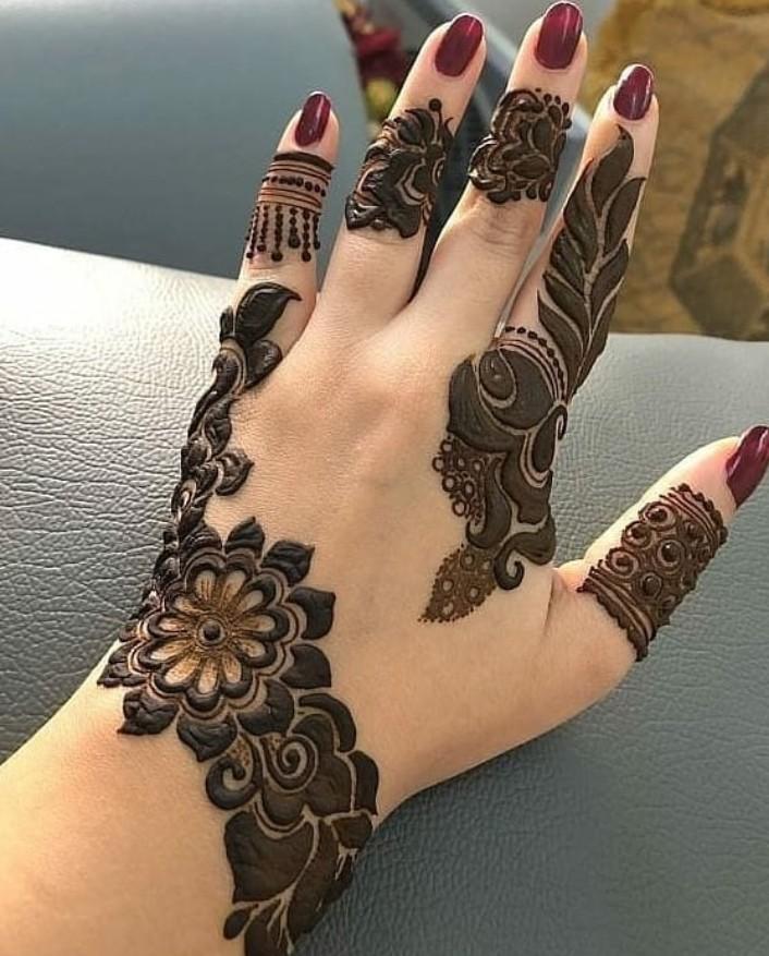 Arabic Mehndi Design 32