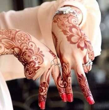 Arabic Mehndi Design 34