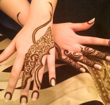 Arabic Mehndi Design 35