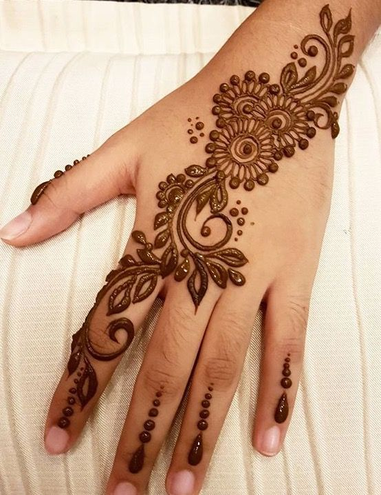 Arabic Mehndi Design 38