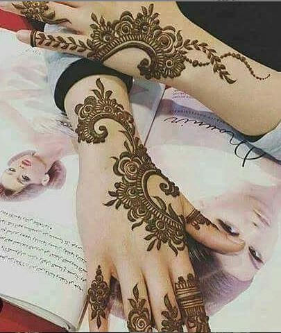Arabic Mehndi Design 4