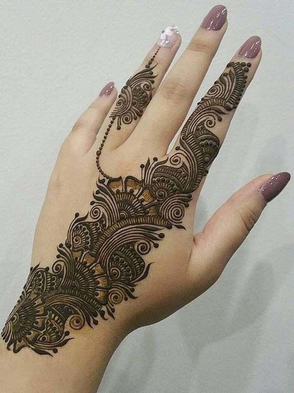 Arabic Mehndi Design 40