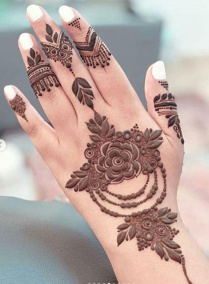 Arabic Mehndi Design 45