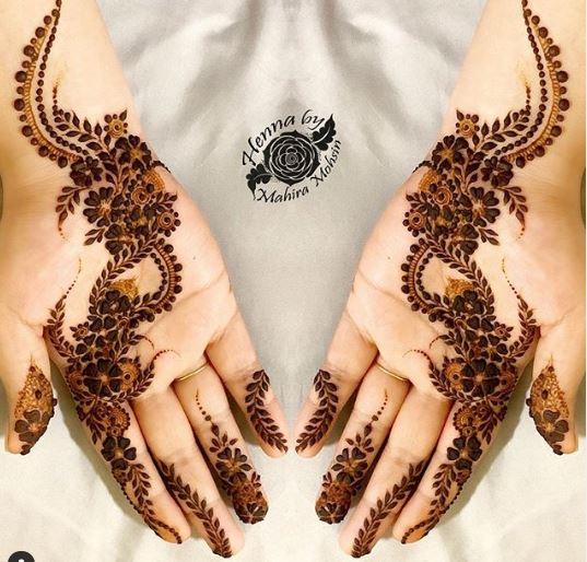 Arabic Mehndi Design 49