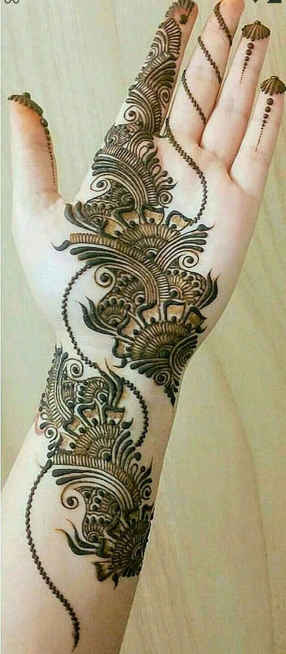 Arabic Mehndi Design 5