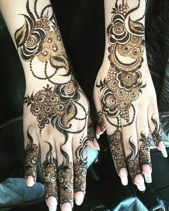 Arabic Mehndi Design 6