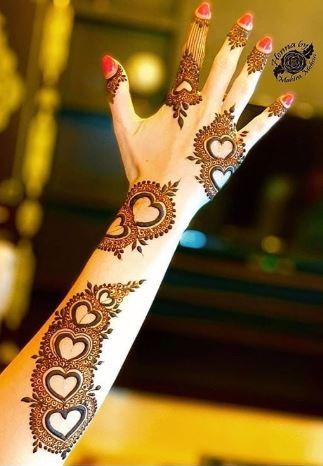 Arabic Mehndi Design 7