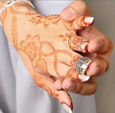 Arabic Mehndi Design 8