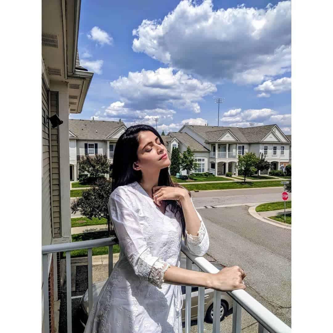 Latest Beautiful Clicks of Gorgeous Actress Arij Fatima
