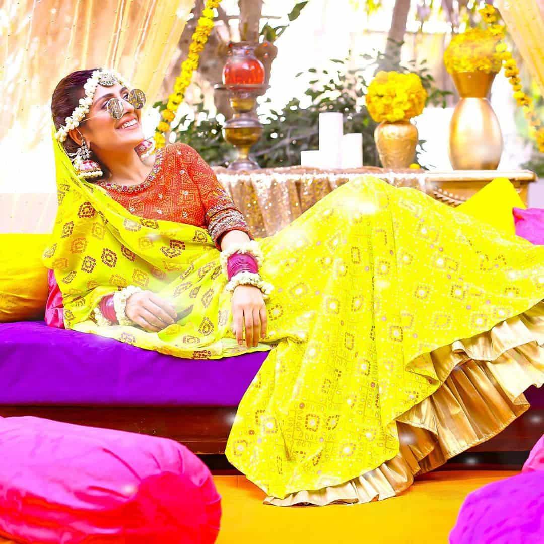 Ayeza Khan's Latest Shoot from the Drama Serial Yaariyan