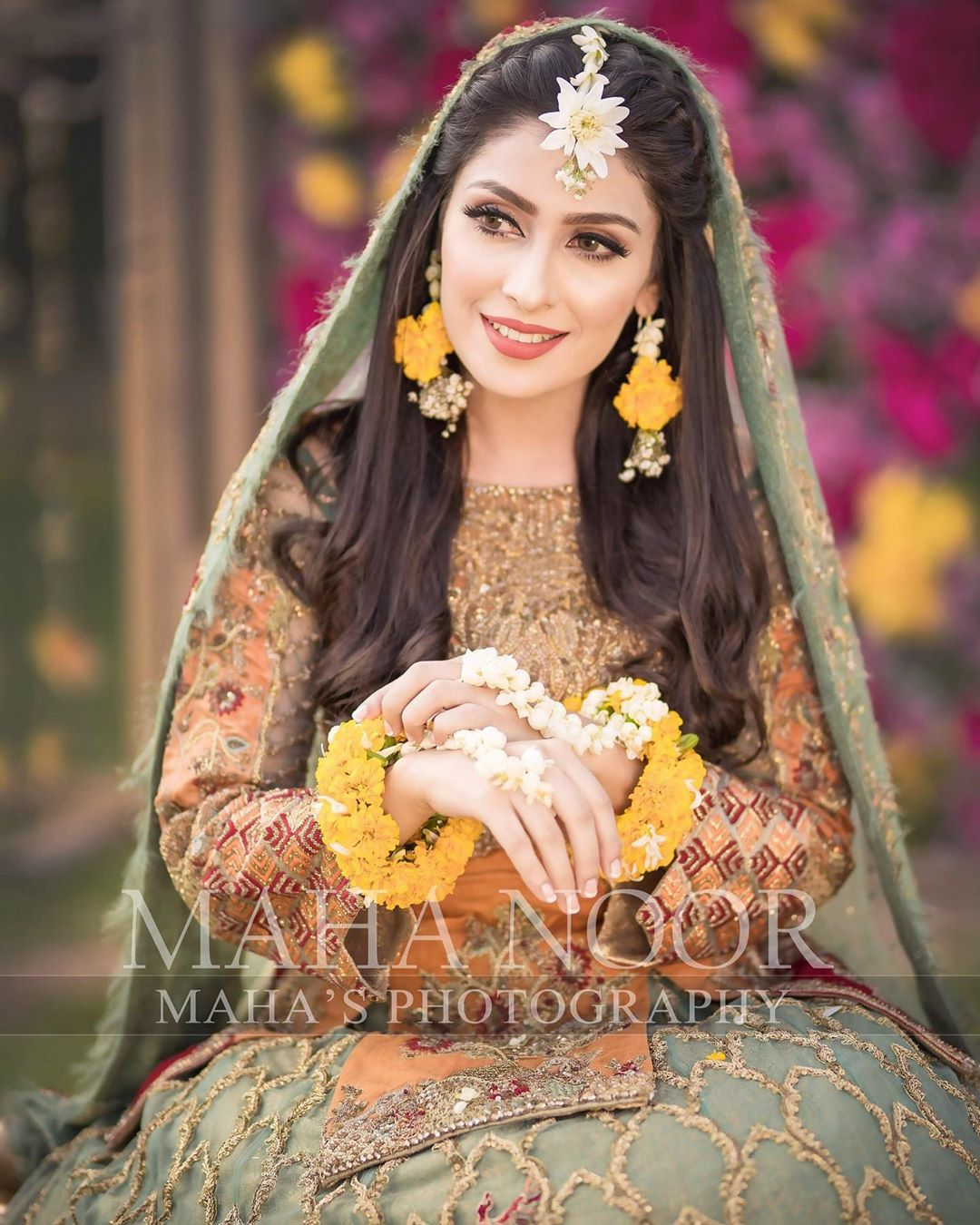 Ayeza Khan Bridal Photo Shoot 1
