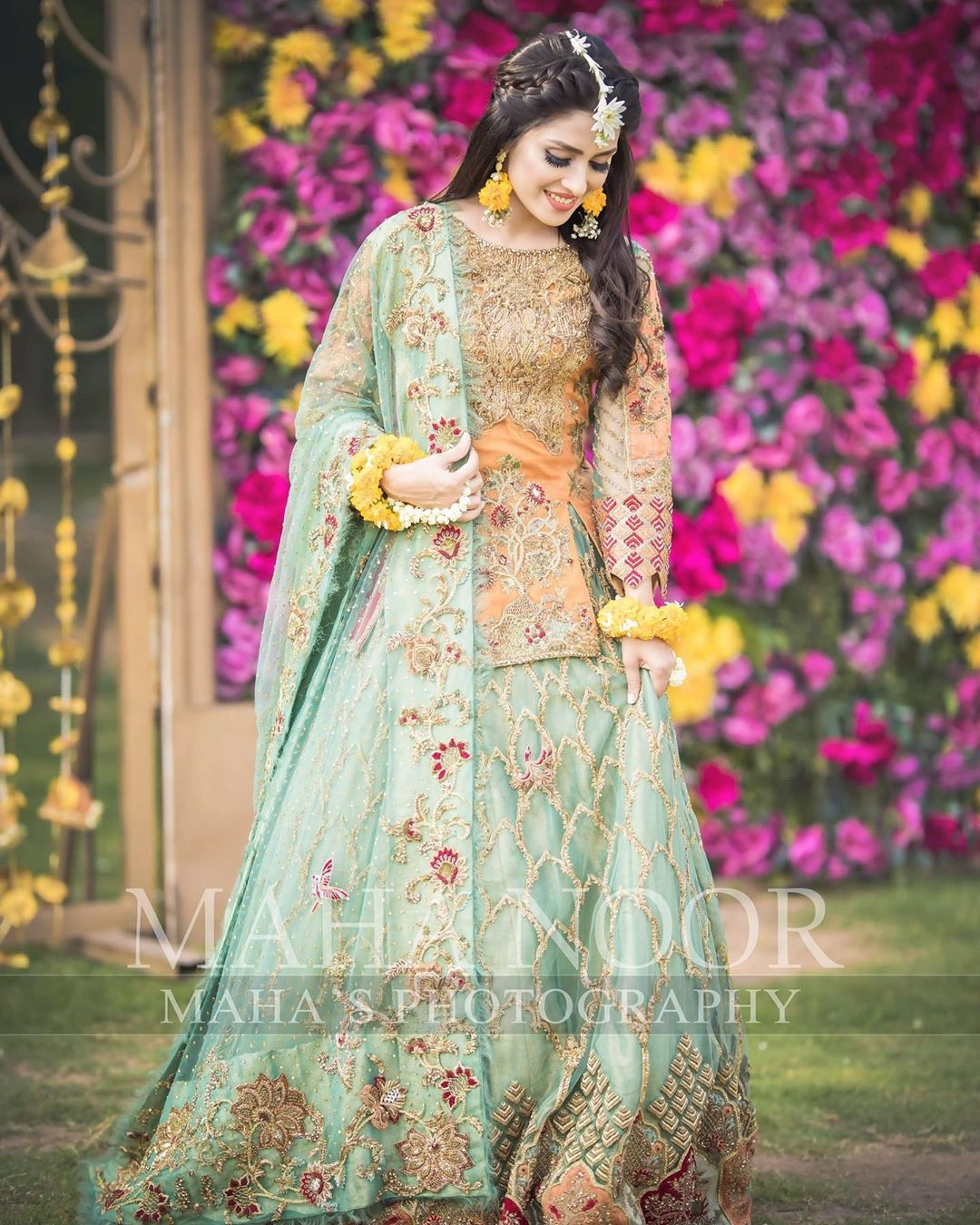 Ayeza Khan Bridal Photo Shoot 10